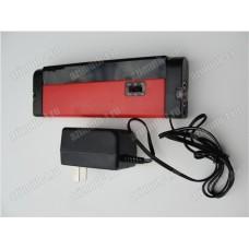 Прибор для определения оловянной стороны стекла, работа от сети 220 Вольт или 4-х батареек АА с выключателем, пластиковый корпус, фонарик SAGA-GTD-0100