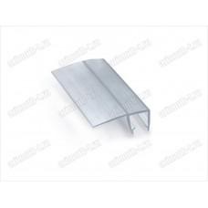 Профиль уплотнительный ПВХ для стекла 6мм, длина 2.2 метра SAGA-PP-602