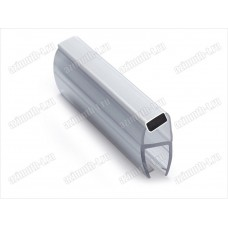 Профиль ПВХ магнитная пара для стекла 10мм (соединение стекла под 135°) SAGA-PM-1021