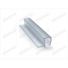 Профиль уплотнительный ПВХ для стекла 8мм, длина 2.2 метра SAGA-PP-804