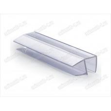 Профиль уплотнительный ПВХ для стекла 8мм, длина 2.2 метра SAGA-PP-806