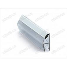 Профиль ПВХ магнитная пара для стекла 8мм (соединение стекла под 90º,180°) SAGA-PM-820