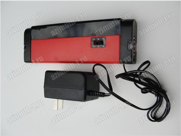 Прибор для определения оловянной стороны стекла в пластиковом корпусе, питание возможно от сети 220 Вольт и батареек