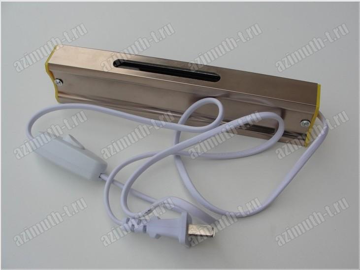 Детектор для определения оловянной стороны стекла в алюминиевом корпусе, питание от 220 Вольт